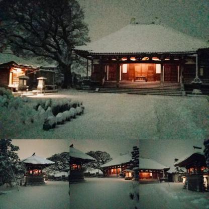 境内雪景色